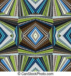 abstract, achtergrond, ethnische , kaleidoscope