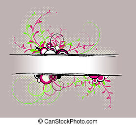 abstract, achtergrond, floral