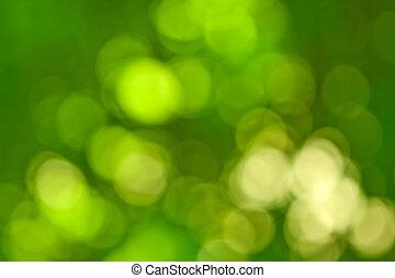 abstract, achtergrond, groene, kleuren, gele