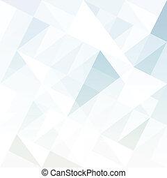 abstract, achtergrond, met, triangles., vector.