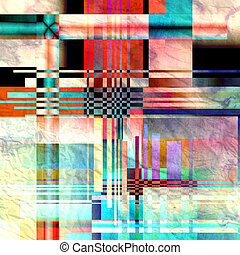 abstract, achtergrond