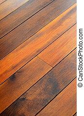 abstract, achtergrond, van, houtenvloer