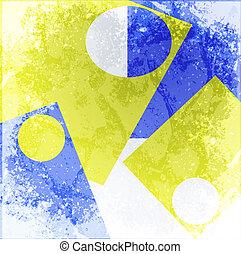 abstract, achtergronden