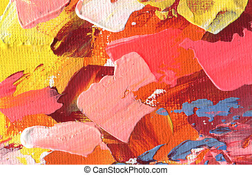 Abstract acrylic and watercolor painting. Color texture background.