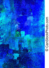 abstract art - hand painted background