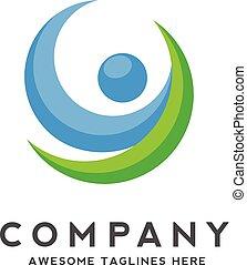 active fit human character logo