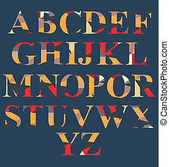 Abstract Alphabet Set
