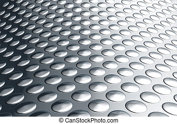 Abstract aluminum background