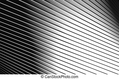 Abstract aluminum line pattern background