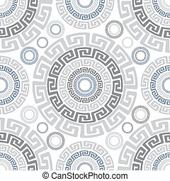 Abstract ancient vector seamless pattern