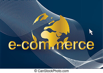 Business Background - Abstract and Business Background with ...