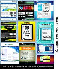 Original Style Futuristic WebSite Template