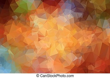 Abstract angular colorful vector background - Abstract...