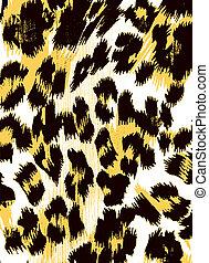 abstract animal print backdrop
