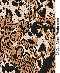 abstract animal print