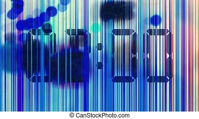 Abstract animation, colorful lines - Abstract animation,...