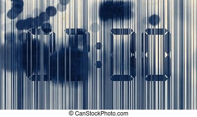 Abstract animation, lines and spots - Abstract animation,...