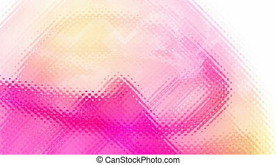 abstract animation - abstract ripple on the glass