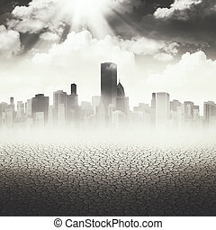 Abstract Apocalyptic backgrounds for your design