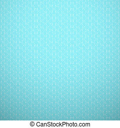 Abstract aqua elegant seamless pattern. Blue and white, aqua style pattern with curve and line. Vector illustration. Delicate knitted fabric texture background. Book and wall cover.
