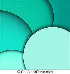 Abstract aquamarine background