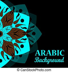 Abstract arabic background