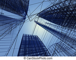 abstract architecture - abstract modern architecture