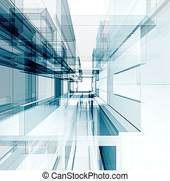 Abstract architecture background - Abstract interior....