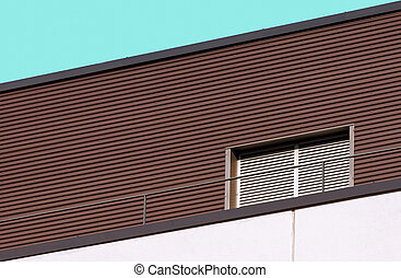 Abstract architecture modern building detail