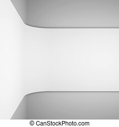 Abstract Architecture Rendering - 3d White Abstract...