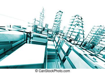 abstract., architektura