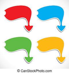 abstract arrow design