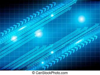 Abstract arrow technology