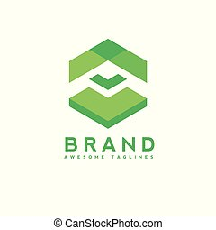 Abstract arrow up business logo,