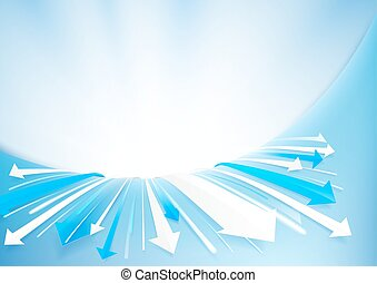 Abstract arrows background. technology concept design