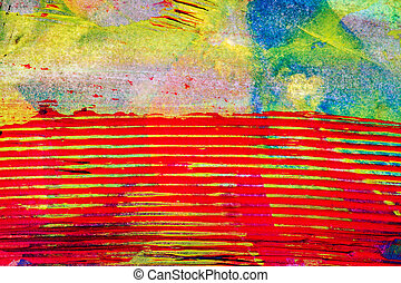 Abstract art background - Closeup shot of abstract hand ...