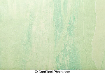 Abstract art background light green and yellow color. Multicolor painting on canvas.