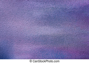 Abstract art background navy blue and purple colors. Watercolor painting on canvas with soft violet gradient.