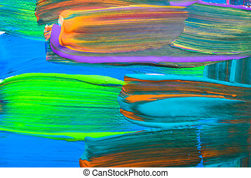 Abstract art backgrounds. Hand-painted background. SELF MADE...