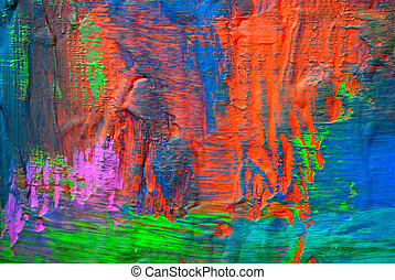 Abstract art backgrounds. Hand-painted background
