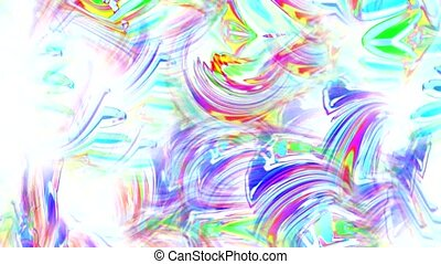 abstract art colorful ripple