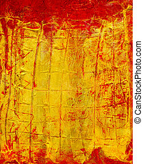 abstract art-impasto