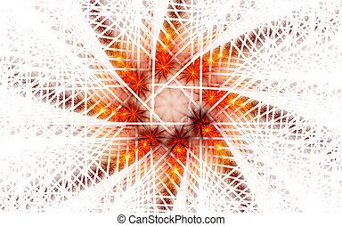 Abstract art star backdrop (wallpaper).