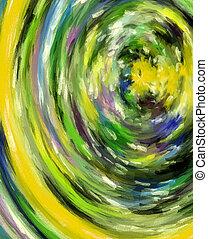 Abstract Art Tunnel