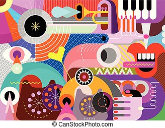 Abstract Art vector design