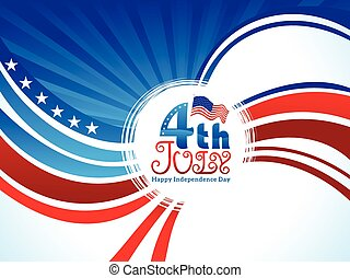 abstract artistic american independence day background