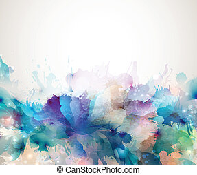 artistic Background - Abstract artistic Background forming...