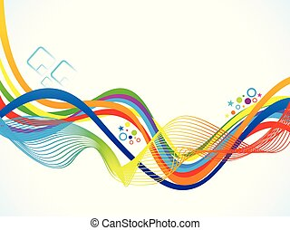 abstract artistic colorful rainbow background
