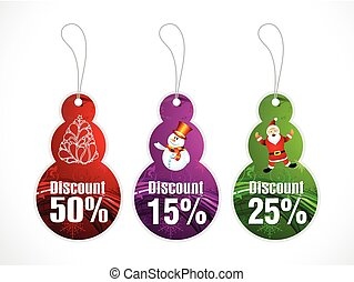 abstract artistic creative multiple christmas discount...