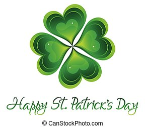 abstract artistic creative st patricks background